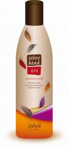 Żelowa farba do włosów bez amoniaku JALYD COLOR HEAD 240ml 6N ciemny blond